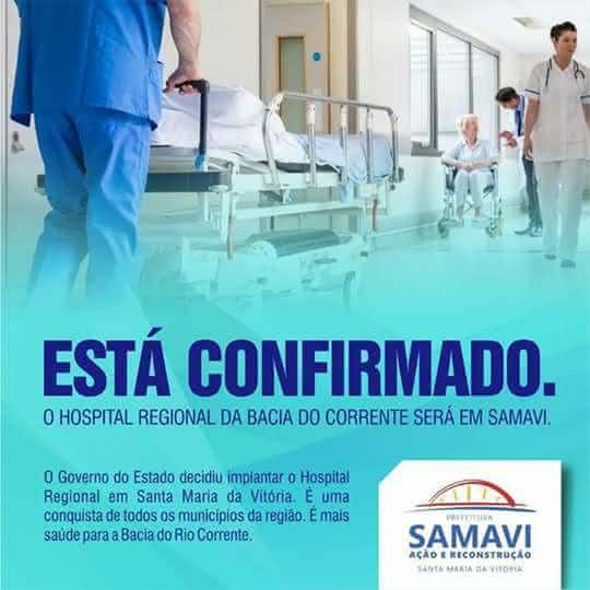 43d36019d0 Hospital Regional da Bacia do Corrente será construído em Santa ...